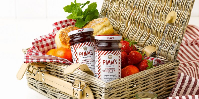 Pimms jam launch image