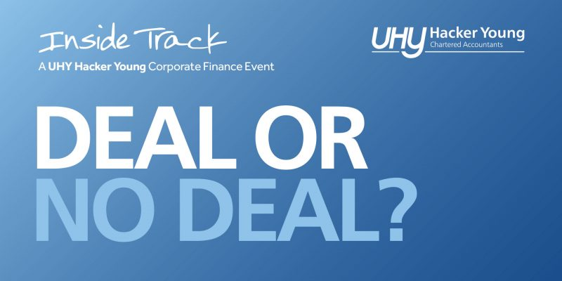 Launching a series of corporate finance events