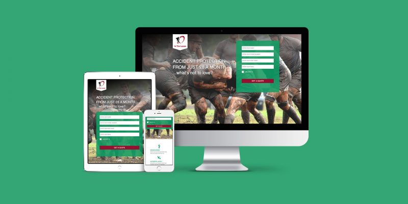 Helping generate leads for rugby news site image