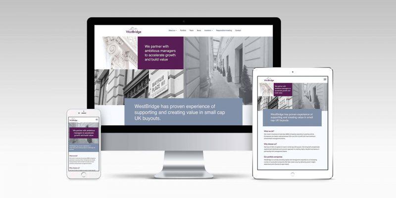New website reflects new branding for WestBridge image