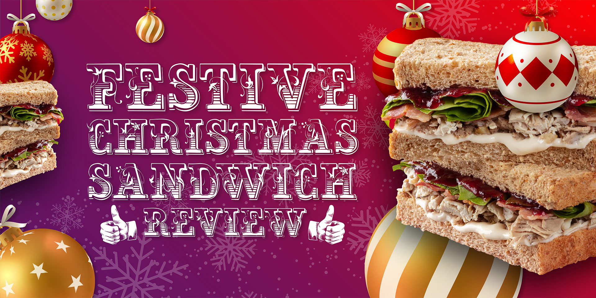 Christmas Sandwich Review – Sainsbury's vs Boots image