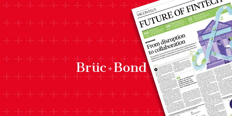 National coverage for fintech company Bruc Bond image