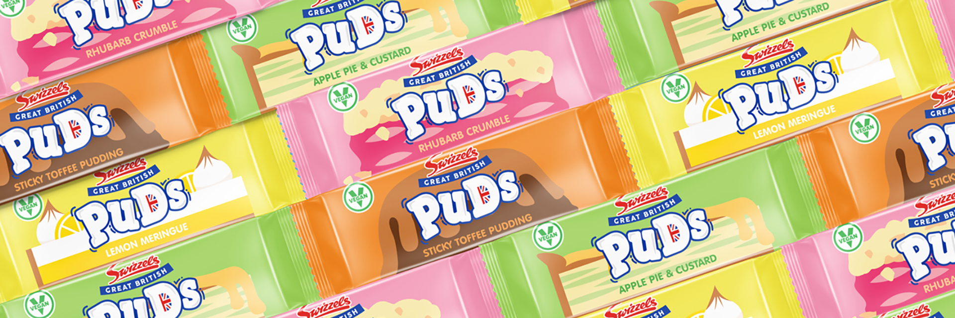 Swizzels Great British Puds Chew Bar image